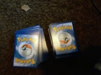 140 mix of old and new pokemon cards  Fort Wayne