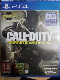 Call of Duty infinita guerra caso PS4 gioco Villa Literno, 81039