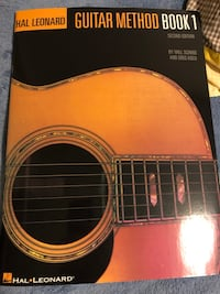 Guitar method book 1 Kitchener, N2E 0A6
