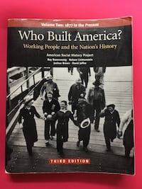 Book: Who Built America? Working People and the Nation's History Annandale, 22003