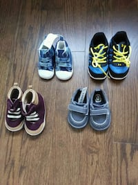 four pairs of assorted shoes Pickering, L1X 1P5