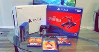 PS4 Pro w/Games (Original package, 1 owner)