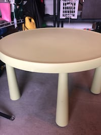 round white wooden coffee table 3724 km