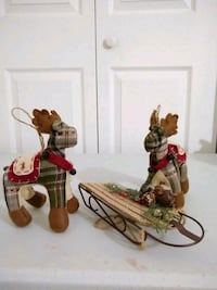 Country style christmas ornaments a Ravena, 12143