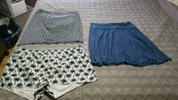 Shorts, skirt and skirt size xl  Edmonton, T5E 6P1