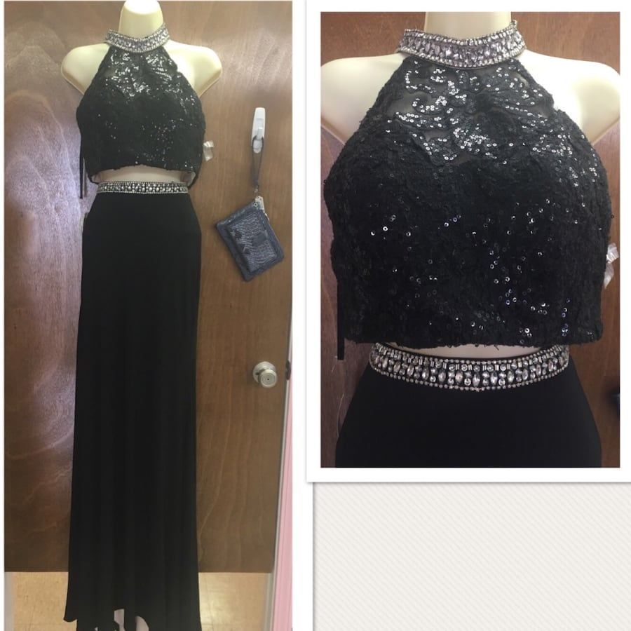 New With Tags Size 10 Alyce Paris 2 Piece Gown $126