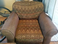 Large Amrchair + Ottoman - Negotiable Price Mississauga
