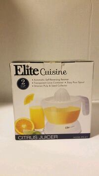 Elite cuisine juicer