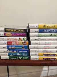Various Nintendo DS games