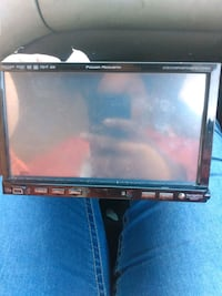 Touch screen radio