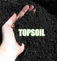Bulk delivery of screened topsoil (25+yards). Area must be accessible for 18 wheeler. $15 per yard. Coram