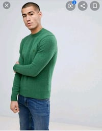 United colors of Benetton Crewneck Sweater In Shetland Wool Owings Mills