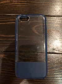 blue and clear iPhone case Cheney