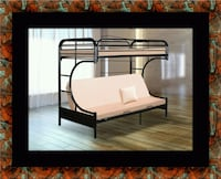 Twin futon bunk bed frame 40 km