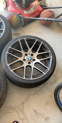 Bmw rims and tires 19 inches
