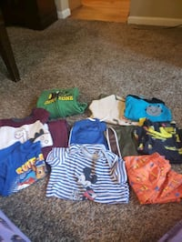 I have a small Box of boy's clothes and     18 months Frederick, 21702