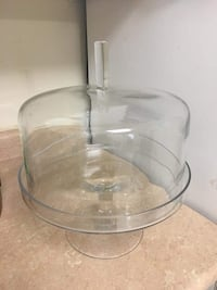 clear glass bowl with lid Mississauga, L4Y 2N9
