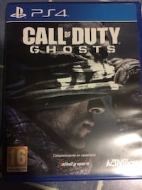 Caso de juego Call of Duty Ghosts PS4