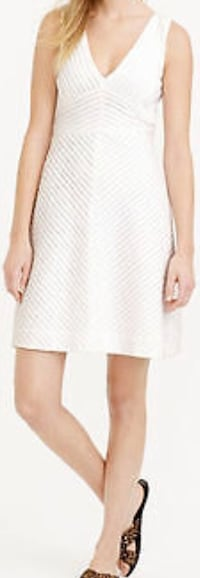 Stunning and new J. Crew all white cotton dress! Easy to wear! Silver Spring, 20904