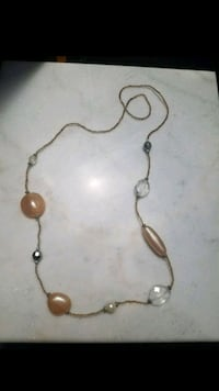 Gold necklace with beads La Puente, 91744