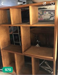 Brown wooden cabinet with shelf West Covina, 91790