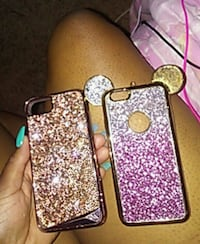 two pink and brown iPhone 6s cases Saint Louis Park, 55426