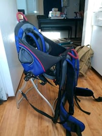 baby's black and blue backpack carrier Sacramento, 95821