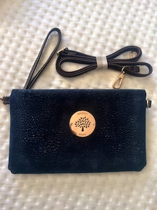Navy Mulberry clutch / bag / wristlet