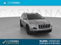2014 Jeep Cherokee suv Altitude Sport Utility 4D SILVER Jamaica