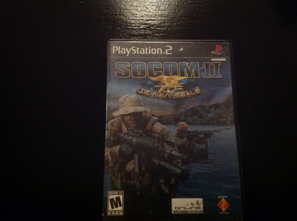 socom 2 sony ps2 game