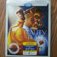 Beauty and the Beast Blu-ray DVD Chicago, 60634
