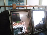 2 beautiful vintage mirrors [moving sale ] Duncan, V9L 6Z3