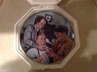 Collectible Three Stooges Plate Zeeland, 49464