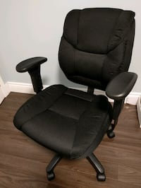 High-back fabric computer chair