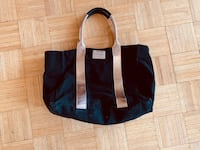 Black and brown leather tote bag  Toronto, M6B 3H1