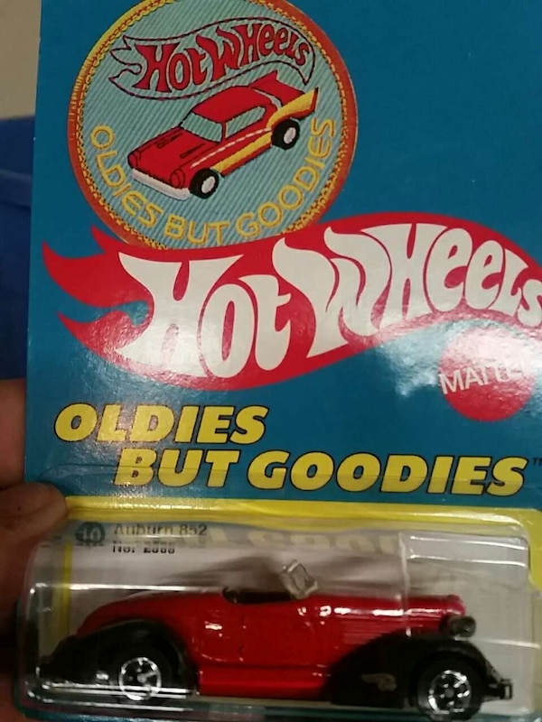 hot wheels oldies but goodies car toy with box