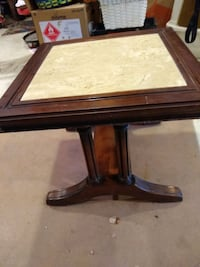 Vintage End table with tile insert Fallston, 21047
