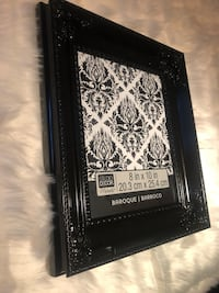 Black Baroque style 8x10 frames, 2 available  Arlington, 22209