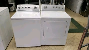 Whirpool washer and gas dryer clean