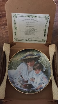 Sandra Kuck Plate great gift! Beautiful art work collectable Kawartha Lakes, L0A 1K0