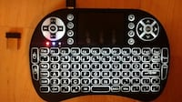 Backlit Wireless Mini Keyboard Air Mouse Combo - Lithium Baterry TORONTO