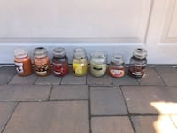 Lot of 7 assorted scented candles Garden City, 11530