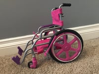 Journey girl doll wheelchair all accessories come with it. (Doll not included)  Maple Ridge, V4R 2C8
