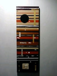 Original one-of-a-kind abstract painting Baltimore, 21202