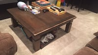 rectangular brown wooden coffee table West Vancouver, V7T 1T4