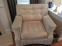 Cream Colored Couch & Chair Haverty's Richmond