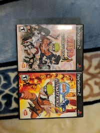 Naruto Ultimate Ninja 1&2 for PS2