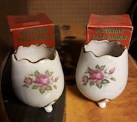 Victorian vase candle with beeswax 528 mi