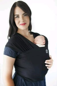 Moby wrap classic in black Mississauga, L5B