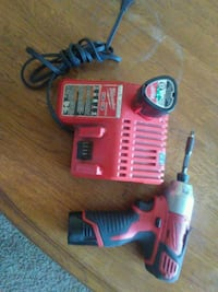Milwaukee impact 2 batteries and charger West Sacramento, 95691